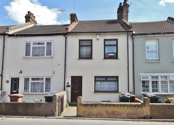 Thumbnail 3 bed terraced house for sale in The Parade, High Street, Swanscombe