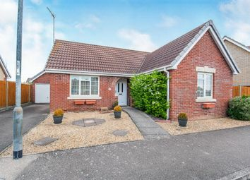 Thumbnail 2 bed detached bungalow for sale in West Drive, Friday Bridge, Wisbech