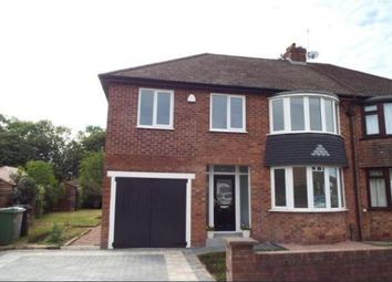 Thumbnail 4 bed semi-detached house to rent in Windermere Road, Wilmslow