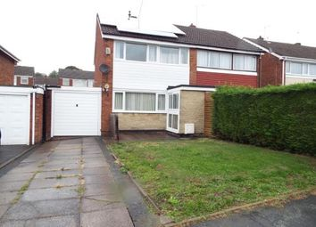 Thumbnail 3 bed semi-detached house for sale in Sharon Way, Hednesford, Cannock, Staffordshire