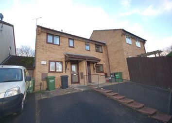 Thumbnail 2 bed terraced house for sale in Wedmore Close, Bristol