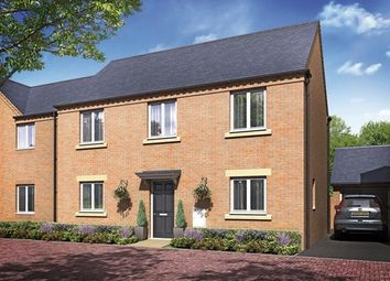 "Thumbnail 4 bed detached house for sale in ""The Harewood"" at Barleythorpe Road, Oakham"