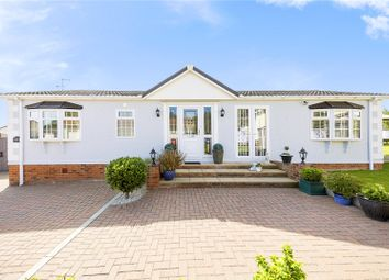 Thumbnail 2 bed mobile/park home for sale in Howards Way, Hayes Country Park, Battlesbridge, Wickford