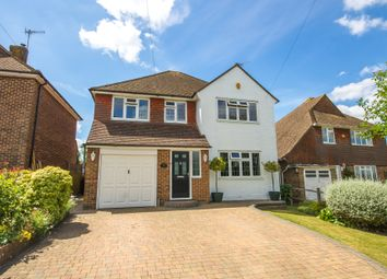 Thumbnail 4 bed detached house for sale in Heathcote Drive, East Grinstead
