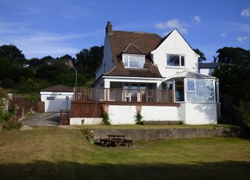 Thumbnail 4 bed detached house for sale in Crynallt Road, Cimla, Neath .