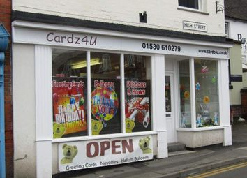 Thumbnail Retail premises for sale in High Street, Measham, Swadlincote