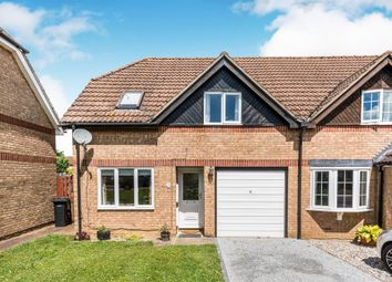 Thumbnail 3 bed semi-detached house for sale in Metcalfe Close, Abingdon