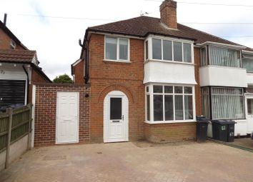 Thumbnail 3 bed property to rent in Sheringham Road, Kings Norton, Birmingham