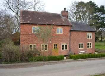 Thumbnail 3 bed country house to rent in Moss Lane, Market Drayton