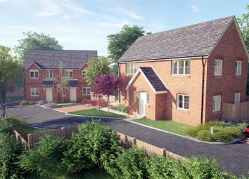 Thumbnail 2 bed semi-detached house for sale in Greyhound Close, Off Boney Hay Road, Burntwood