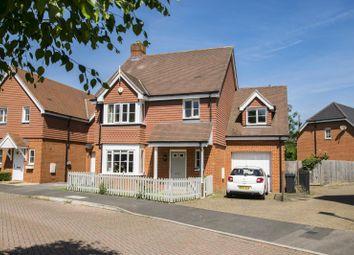Thumbnail 4 bedroom detached house for sale in Lowbury Gardens, Compton, Newbury