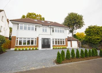 Thumbnail 5 bed detached house for sale in Woodridings Avenue, Pinner