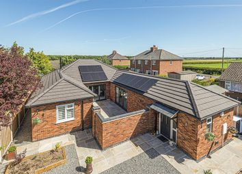 Thumbnail 3 bed detached bungalow for sale in Ferry Road, Southrey, Lincoln, Lincs