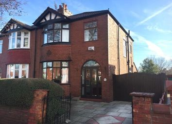 Thumbnail 3 bedroom semi-detached house for sale in Hulme Road, Heaton Chapel, Stockport, Cheshire