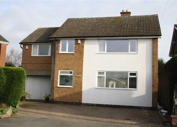 Thumbnail 4 bed detached house for sale in Hawthorn Close, Kirby Muxloe, Leicester