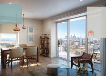 Thumbnail 2 bedroom flat for sale in 23rd Floor, West Tower, Glasshouse Gardens, Stratford City