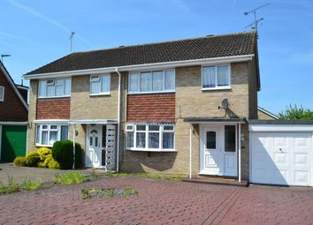 Thumbnail 3 bed semi-detached house for sale in Chelmsford, Essex, Uk