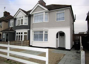 Thumbnail 3 bed semi-detached house for sale in Central Road, Stanford-Le-Hope, Essex.