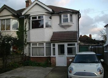 Thumbnail 5 bedroom semi-detached house to rent in Grosvenor Road, Southampton
