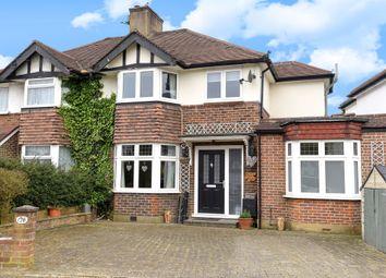 Thumbnail 4 bed semi-detached house for sale in Hamilton Avenue, Tolworth, Surbiton