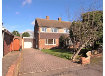Thumbnail 4 bed semi-detached house for sale in Birtrick Drive, Meopham