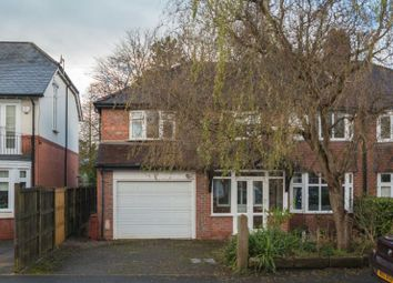Thumbnail 5 bed semi-detached house for sale in Cecil Road, Hale, Altrincham