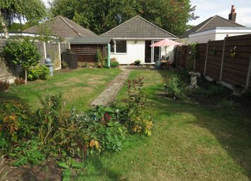 Thumbnail 2 bedroom detached bungalow for sale in Recreation Road, Parkstone, Poole