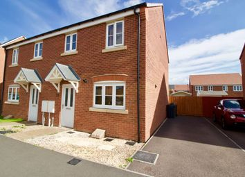Thumbnail 3 bed semi-detached house for sale in Birstall Meadow Road, Birstall, Leicester