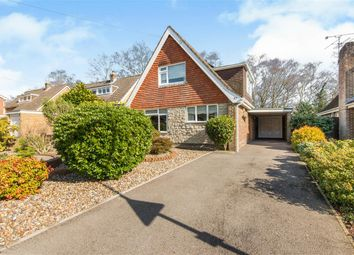 Thumbnail 4 bed detached house for sale in Hocombe Drive, Chandlers Ford, Eastleigh