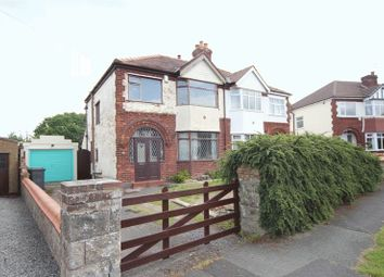 Thumbnail 3 bed semi-detached house for sale in Belmont Drive, Pensby, Wirral