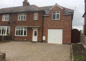 Thumbnail 4 bed semi-detached house to rent in London Lane, Wymeswold, Loughborough