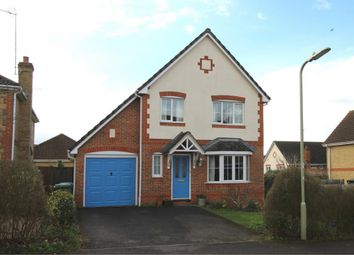 Thumbnail 4 bed detached house for sale in Langley Drive, Aldershot