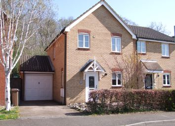 Thumbnail 3 bed semi-detached house for sale in Wordsworth Close, Saxmundham