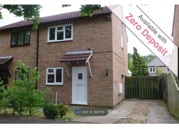 Thumbnail 2 bed semi-detached house to rent in Ferryview, Orton Wistow, Peterborough