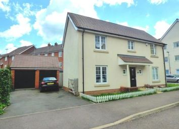 Thumbnail 4 bed detached house for sale in St. Helena Avenue, Newton Leys, Bletchley, Milton Keynes