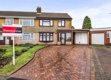Thumbnail 3 bedroom semi-detached house for sale in Greenfields Road, Walsall, West Midlands