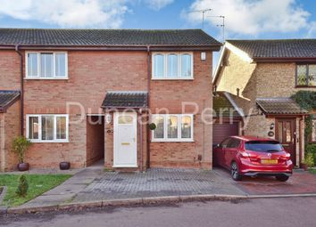 Thumbnail 2 bed end terrace house for sale in Welham Manor, Welham Green, Herts