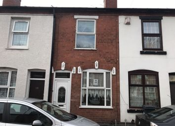 Thumbnail 2 bed terraced house to rent in Miner Street, Walsall, West Midlands