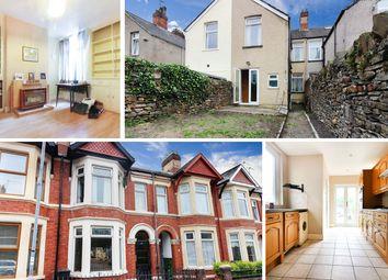 Thumbnail 3 bed terraced house for sale in Eyre Street, Splott, Cardiff