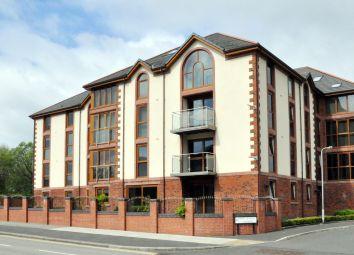 Thumbnail 2 bedroom flat to rent in 23 John Robert Gardens, Carlisle