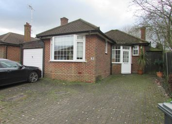 Thumbnail 2 bed bungalow to rent in Hillside Avenue, Borehamwood