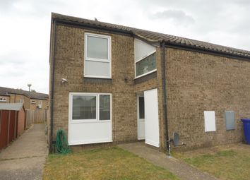 Thumbnail 2 bedroom end terrace house for sale in Elm Walk, Raf Lakenheath, Brandon