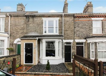 Thumbnail 3 bedroom terraced house for sale in Cardiff Road, Norwich