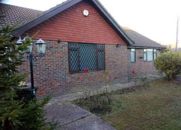 Thumbnail 3 bed detached bungalow to rent in Hawkswood Drive, Hailsham