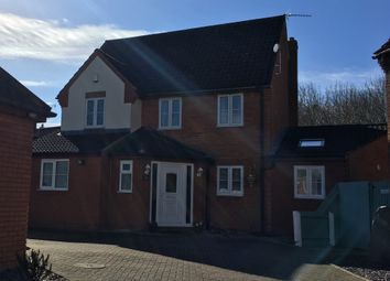 Thumbnail 4 bedroom detached house for sale in Gascoigne, Werrington, Peterborough