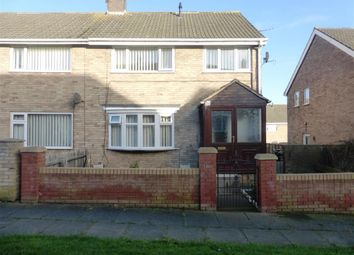 Thumbnail 3 bed semi-detached house to rent in Dodsworth Walk, Clavering, Hartlepool