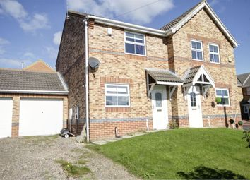 Thumbnail 2 bed semi-detached house for sale in Bluebell Close, Leadgate, Consett