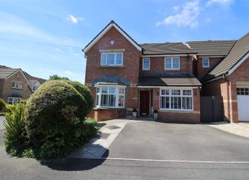 Thumbnail 4 bed detached house for sale in Woodmill, Neath