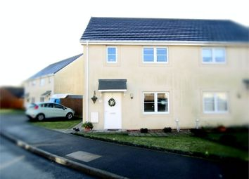 Thumbnail 3 bed semi-detached house for sale in Golwg Y Llanw, Pontarddulais, Swansea, West Glamorgan