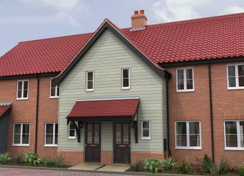 Thumbnail 2 bedroom terraced house for sale in The Ridings, Poringland, Norwich